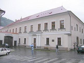 Kremnica Mint - Image: Körmöcbánya 21