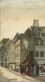 Københavns mindste hus på hjørnet af Rådhusstræde og Nybrogade, 1884.png