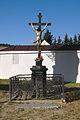 Kříž vedle kostela, Drnovice, okres Blansko.jpg