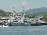 KD Laksamana Tun Abdul Jamil dan Laksamana Muhammad Amin