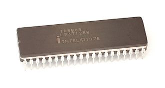 Intel 8088 - An Intel 8088 microprocessor
