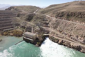 Kajaki Dam - The Kajaki power station