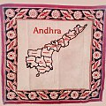 Kalamkari handkerchief depicting Andhra Pradesh.jpg