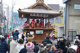 Katsuyama, Fukui - The Katsuyama Segicho Festival, held every February