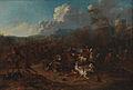 Karel Breydel - Cavalry Skirmish at a Fortress.jpg
