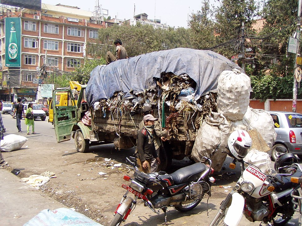 Kathmandu-Müllabfuhr