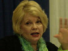 Kathy Garver at WonderCon 2009.JPG