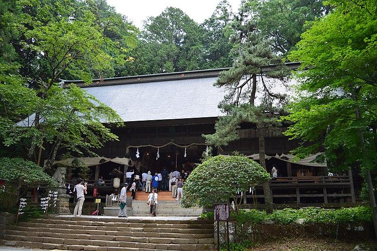 Kawaguchi-asama-jinja haiden-2