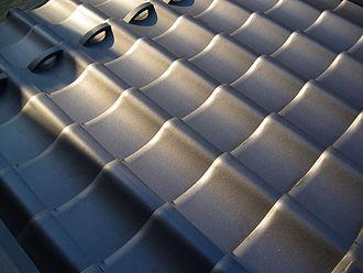 Fires in Edo - Roof tiles