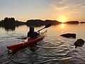Kayaking in Isojärvi 1.jpg