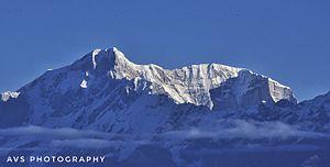 Kedarnath (mountain) - Kedarnath peak and Kedarnath dome