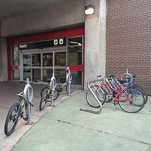 Keele TTC entrance bike racks.jpg