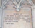 Kettle, Esmonde, WWI Memorial, House of Commons.JPG
