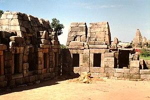 Chausath Yogini temple, Khajuraho - Image: Khajuraho,Chausath Yogini Tempel