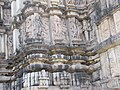 Khajuraho India, DulaDeo Temple, Sculptures Outer Wall 03 - Photographed 10-March-2012.JPG