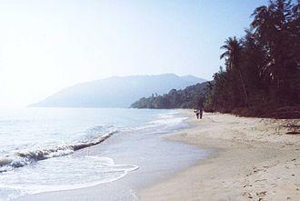 Khanom District - Image: Khanom Beach