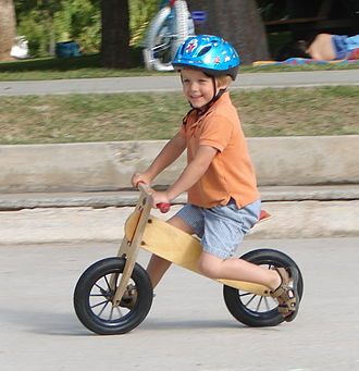 Balance bicycle - Wooden balance bicycle