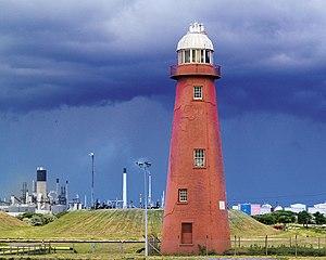 South Killingholme - Killingholme High Lighthouse in 2007