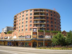 Kingsford, New South Wales - Churchill's Hotel, Anzac Parade