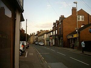 Kippax, West Yorkshire - Image: Kippax High Street