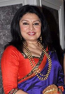 Kiran Juneja at Engagement ceremony of Arjun Hitkari with Gayatri(1) (cropped).jpg