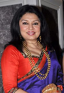 Kiran Juneja at Engagement ceremony of Arjun Hitkari with Gayatri(1) (cropped).jpg