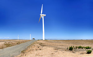 Eskom - Eskom Generation's pilot wind farm facility at Klipheuwel in the Western Cape, South Africa