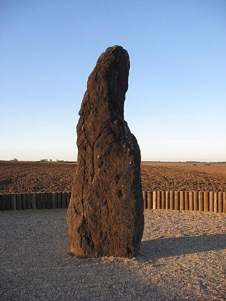 Kamenný pastýř nedaleko Rakovníka