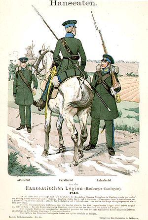 Hanseatic Legion - Image of military unit