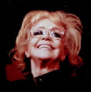 Hildegard Knef - Hildegard Knef, aged 69, at her last concert (5 March 1995) in Berlin