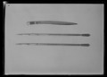 Kniv, tscherkessisk - Livrustkammaren - 77387.tif