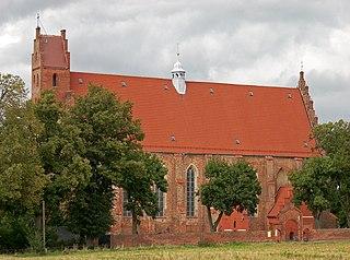 Żarnowiec Village in Pomeranian Voivodeship, Poland