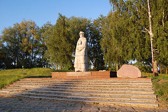 Battle of Kock (1939) - Monument dedicated to General Kleeberg in Kock