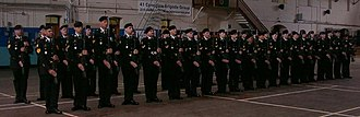Mewata Armouries - King's Own Calgary Regiment soldiers on parade at Mewata Armoury, 2005.