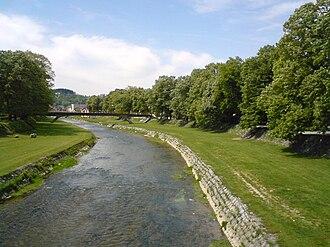 Battle of Kolubara - The Kolubara River in Valjevo.