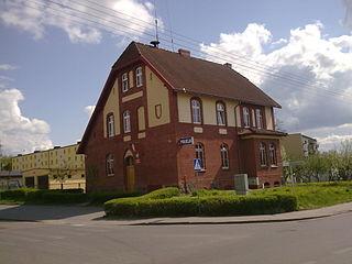 Przechlewo Village in Pomeranian Voivodeship, Poland