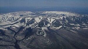 Kondyor Massif - Kondyor Massif viewed from a helicopter