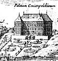 Koniecpolski Palace by Dahlberg 1656.jpg