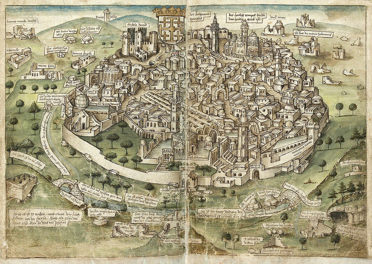 History Of Jerusalem During The Middle Ages Wikipedia