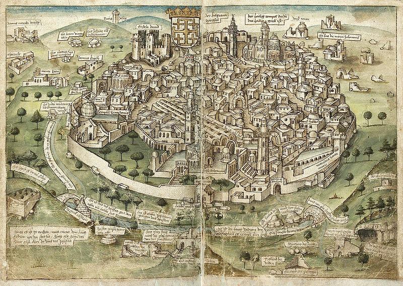 File:Konrad von Grünenberg - Beschreibung der Reise von Konstanz nach Jerusalem - Blatt 35v-36r.jpg