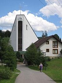 Korna new church.JPG