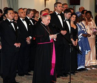 Diplomatic corps - the Papal nuncio of Poland