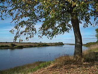 Kostroma River - View of the Kostroma near the village of Most Sandogora