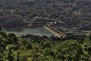 Mahaweli Development programme - Image: Kotmale Dam Srilanka January 2014