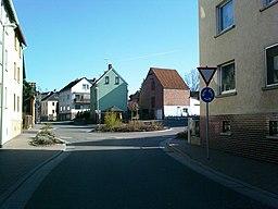 Kreisel, Ortsmitte, Kirberger Straße (L320), Kaltenholzhausen