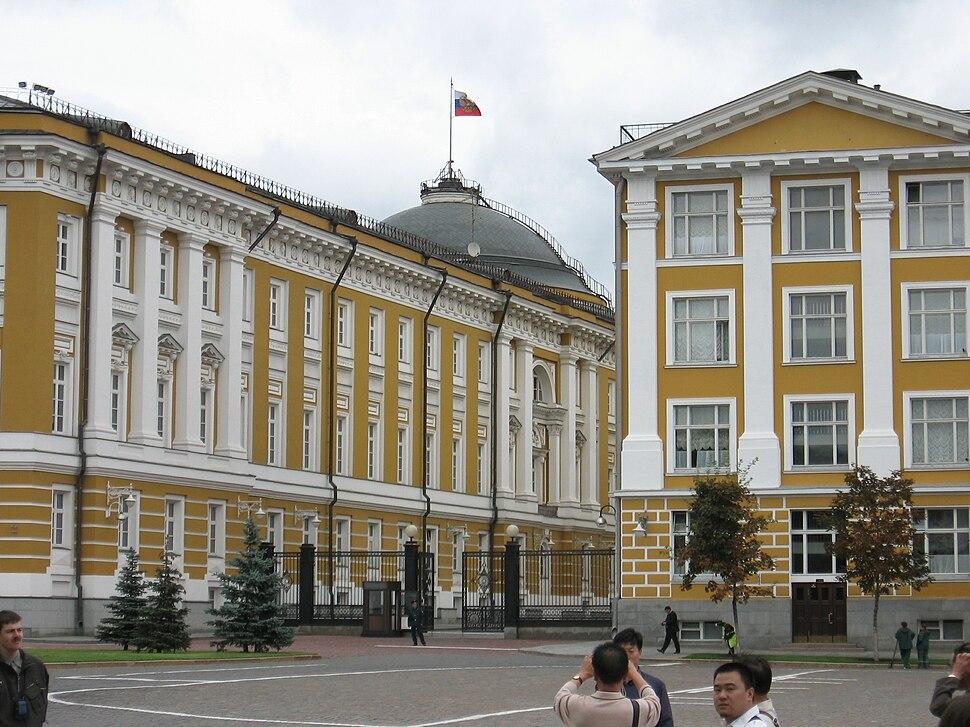 Kremlin Senate in the Moscow Kremlin