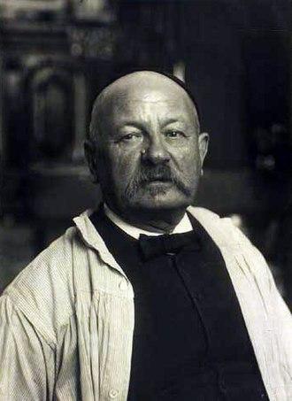 Kristian Zahrtmann - Kristian Zahrtmann, circa 1900