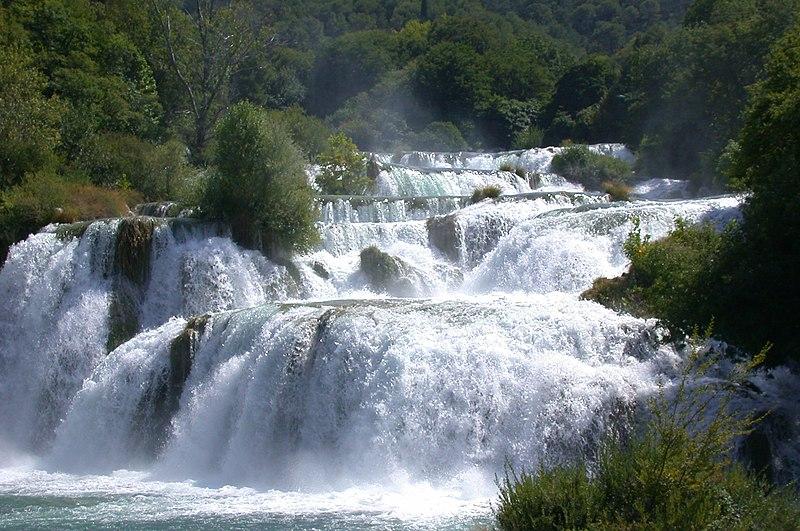 File:Krka Waterfalls.JPG