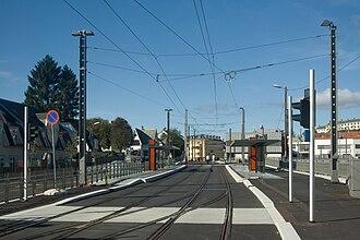 Kronstad, Bergen - Kronstad station of the Bergen Light Rail system