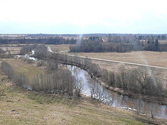 Demyansky District - Confluence of the Kunyanka and Yavon Rivers in Demyansky District